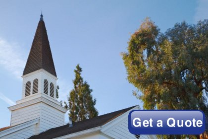 Get a church quote.
